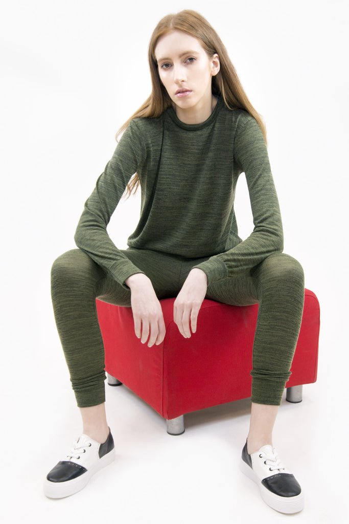 London Rebel | Jade Khaki 2 Piece Tracksuit set | Lifestyle Image