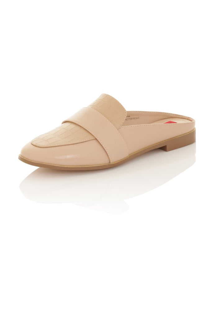 Lucy Nude Slipper Shoe