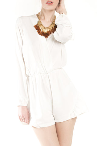 Terri White Swing Dress