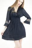 Shelly Black Gypsy Dress