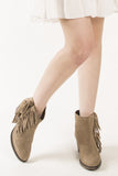 London Rebel | Fonda Tassle Tan Rule London Ankle Boot