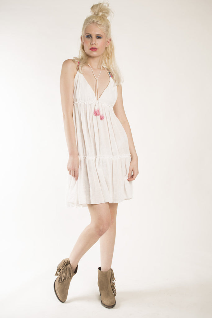 London Rebel | Terri White Swing Dress | Lifestyle Image Front View