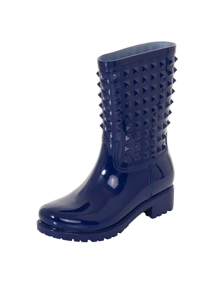 London Rebel | Tucker Blue Wellies | Front Three Quarter