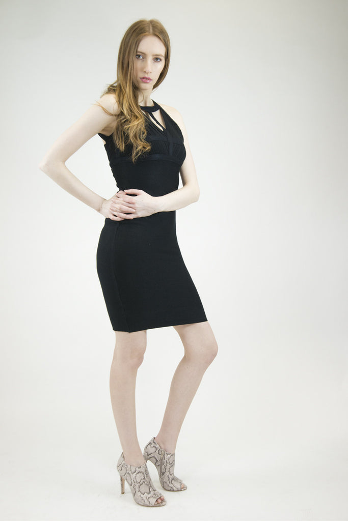 London Rebel | Koko Black Bodycon Dress | Lifestyle Image