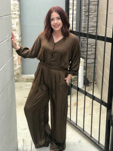 Phoenix Jumpsuit - Brown
