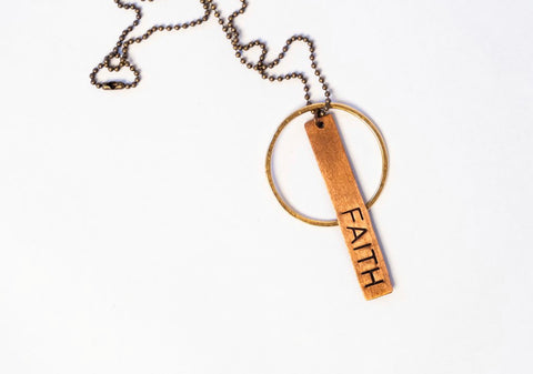 Ella Jude Reminder Necklace - Faith
