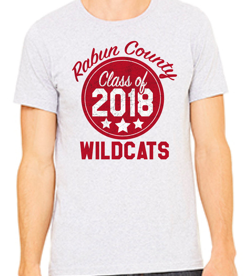Class of 2018 Rabun County High School Senior Shirt