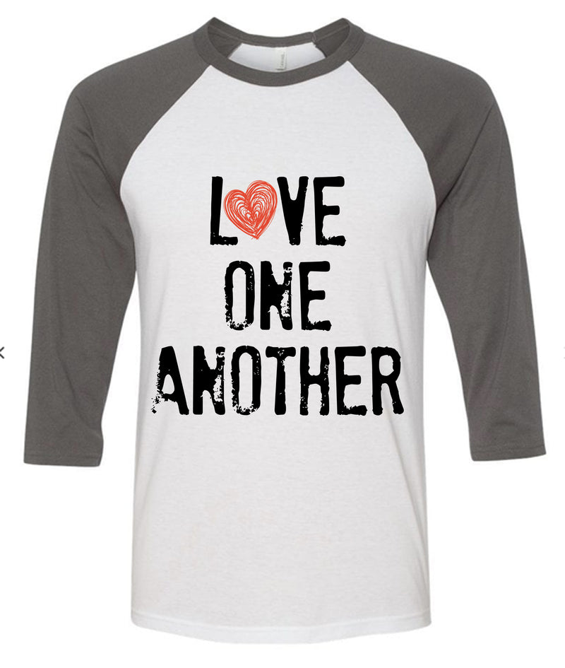 Love One Another - Ragland Baseball Tee