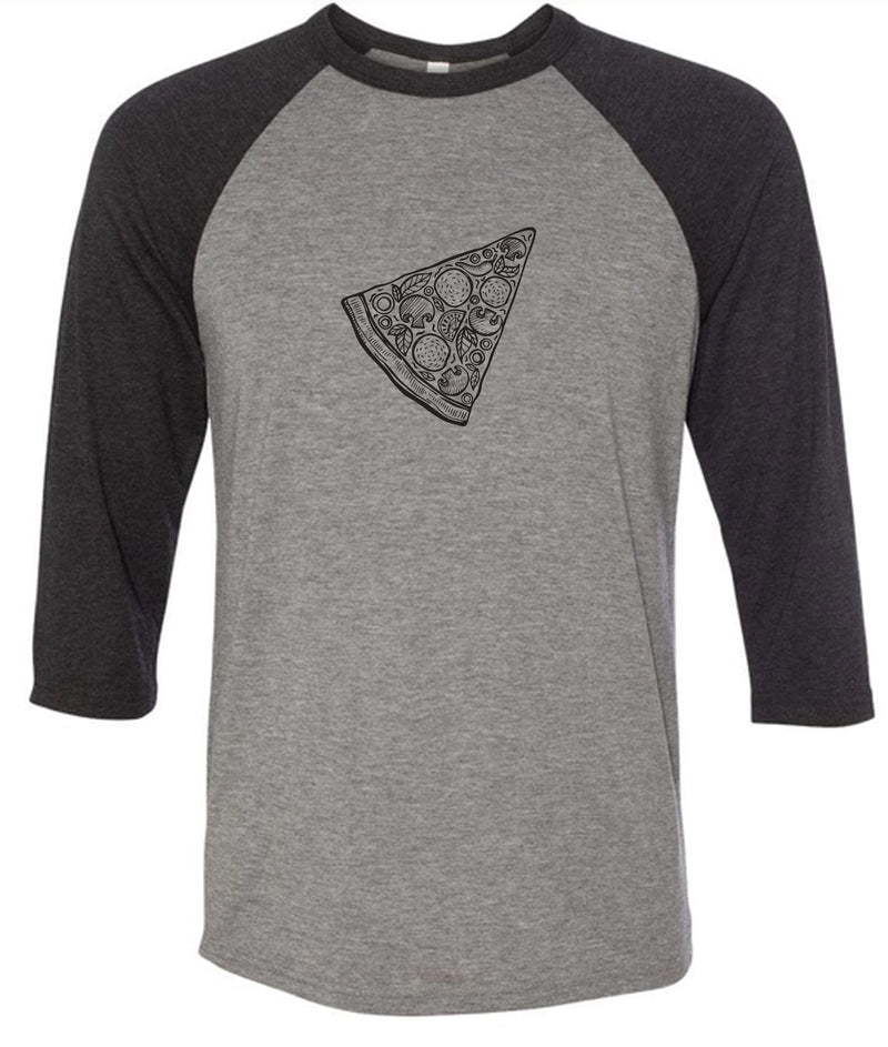 Missing Pizza (Pair) - Baseball Tee