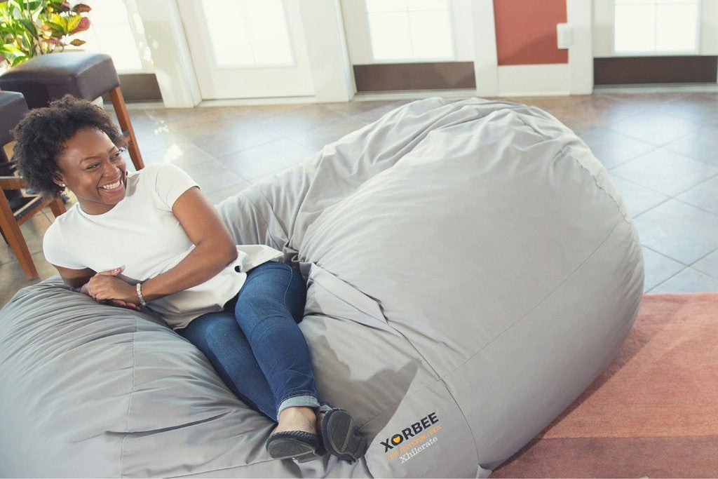 7-foot Foam-Filled Bean Bag Lounger from Xorbee