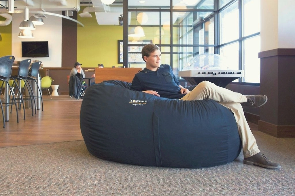 6-Foot Foam-Filled Bean Bag Lounger