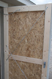 Shed Door - Adjustable Tension Rods