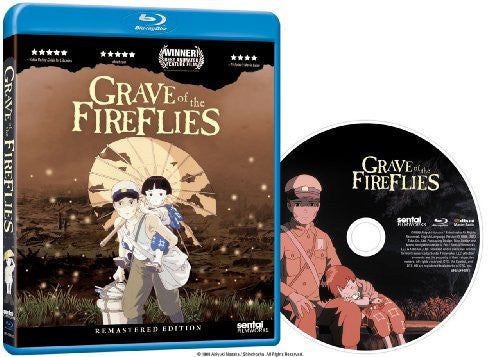 Grave of the Fireflies Blu-ray Disc Spread