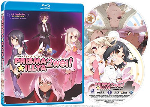 Fate/Kaleid Liner Prisma Illya 2wei! Complete Collection Blu-ray Disc Spread
