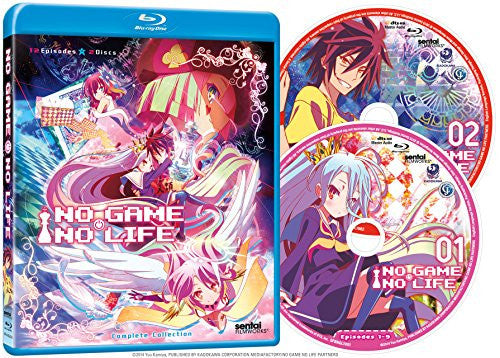 No Game, No Life Complete Collection - Sentai Filmworks - anime - 2