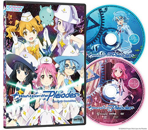 Wish Upon the Pleiades Complete Collection DVD Disc Spread