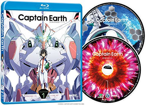 Captain Earth Collection 1 Blu-ray Disc Spread