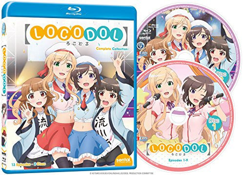 Locodol Complete Collection - Sentai Filmworks - anime - 2
