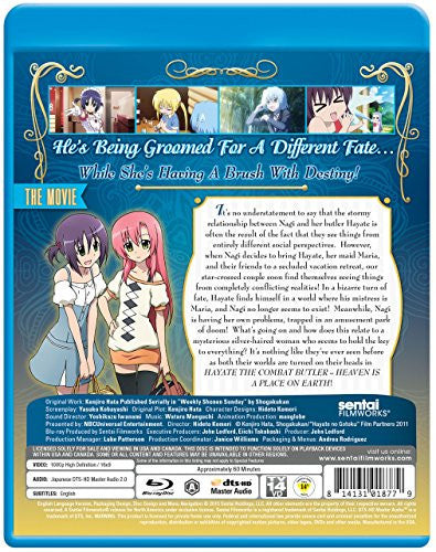 Hayate the Combat Butler: Heaven is a Place on Earth - Sentai Filmworks - anime - 4