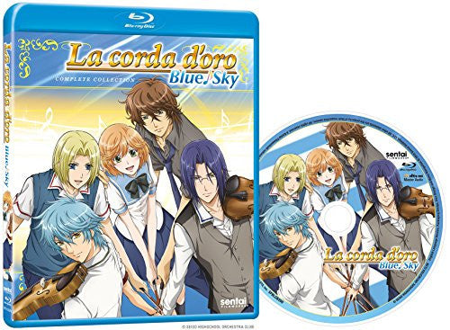 La Corda d'Oro Blue Sky Complete Collection - Sentai Filmworks - anime - 2