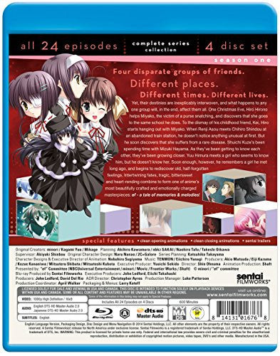 ef ~ a tale of memories & melodies Complete Collection Blu-ray Back Cover