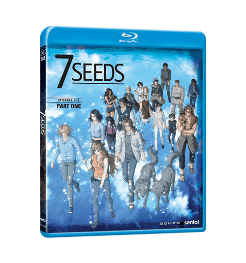 7 Seeds Complete Collection Blu-ray Front Cover