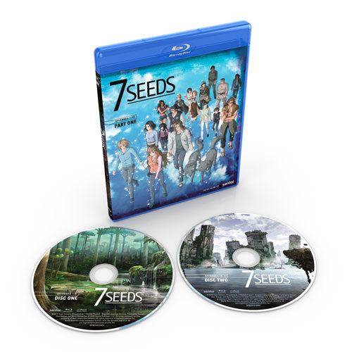 7 Seeds Complete Collection Blu-ray Disc Spread