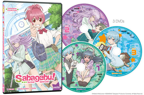 Sabagebu! Survival Game Club Complete Collection
