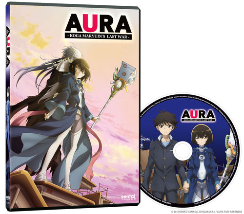 Aura DVD Disc Spread