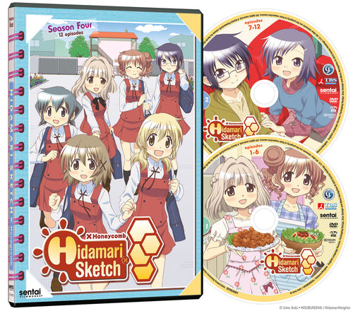 Hidamari Sketch X Honeycomb Complete Collection DVD Disc