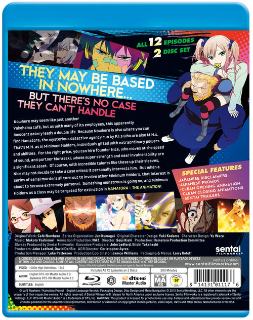 Hamatora the Animation Complete Collection