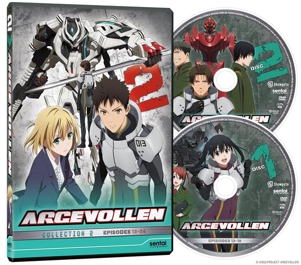 Argevollen Collection 2 DVD Disc Spread