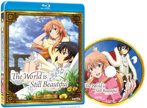 The World is Still Beautiful Complete Collection Blu-ray Disc Spread