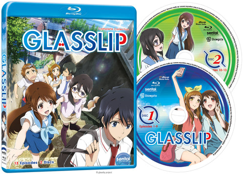 Glasslip Complete Collection Blu-ray Disc Spread