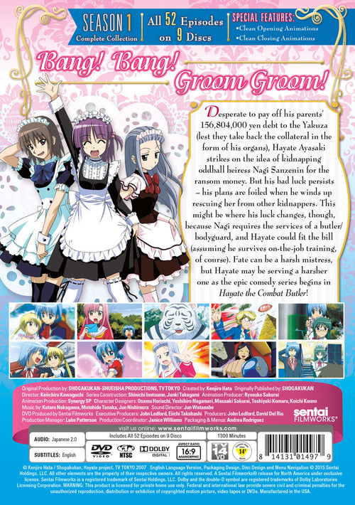 Hayate the Combat Butler Complete Collection