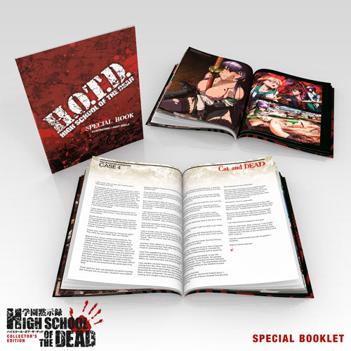High School of the Dead Premium Box Set Special Booklet