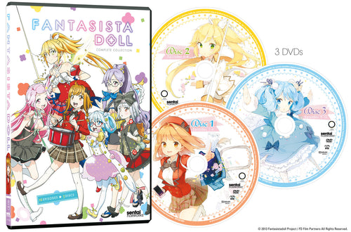 Fantasista Doll Complete Collection DVD Disc Spread