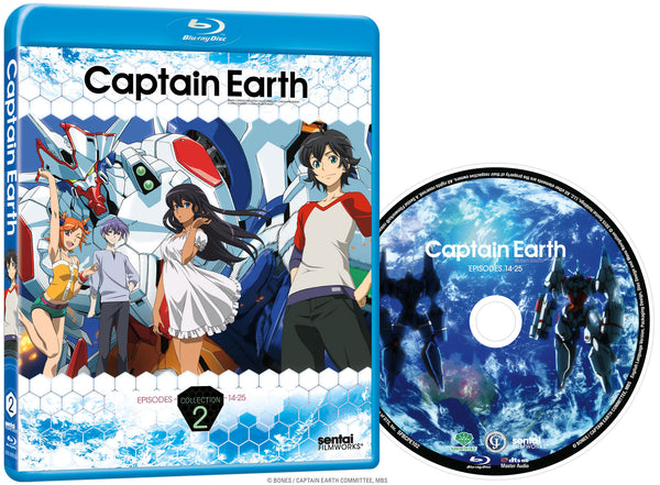 Captain Earth Collection 2 Blu-ray Disc Spread