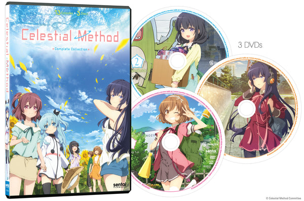 Celestial Method Complete Collection DVD Disc Spread