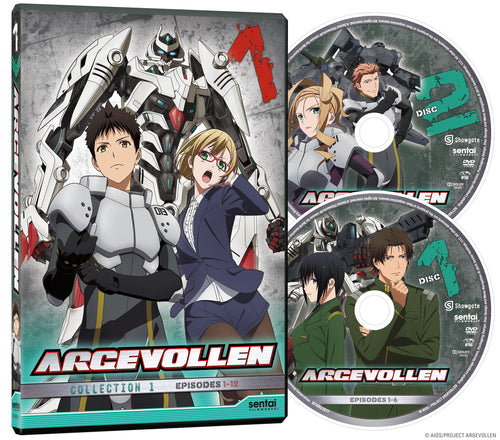 Argevollen Collection 1 DVD Disc Spread