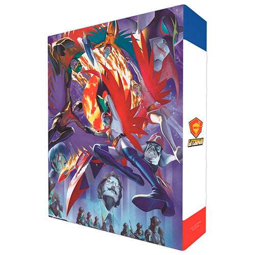 Gatchaman Collector's Edition Box Back Cover