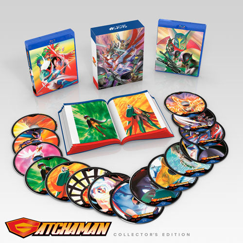 Gatchaman Collector's Edition Box Disc Spread
