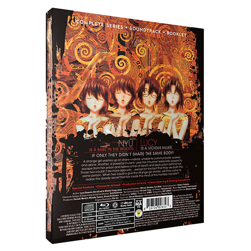 Elfen Lied Complete Collection [SteelBook Edition] Blu-ray Back Cover