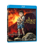 A Spirit of the Sun Blu-ray Front Cover