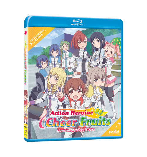 Action Heroine Cheer Fruits Complete Collection Blu-ray Front Cover