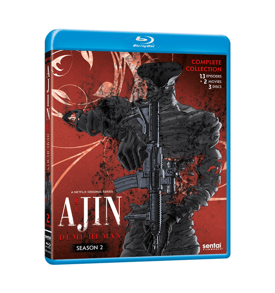 Ajin: Demi-Human Season 2 Complete Collection Blu-ray Front Cover
