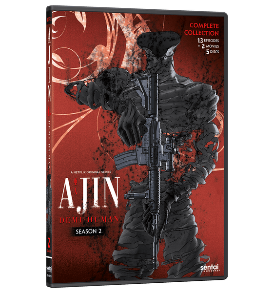 Ajin: Demi-Human Season 2 Complete Collection DVD Front Cover