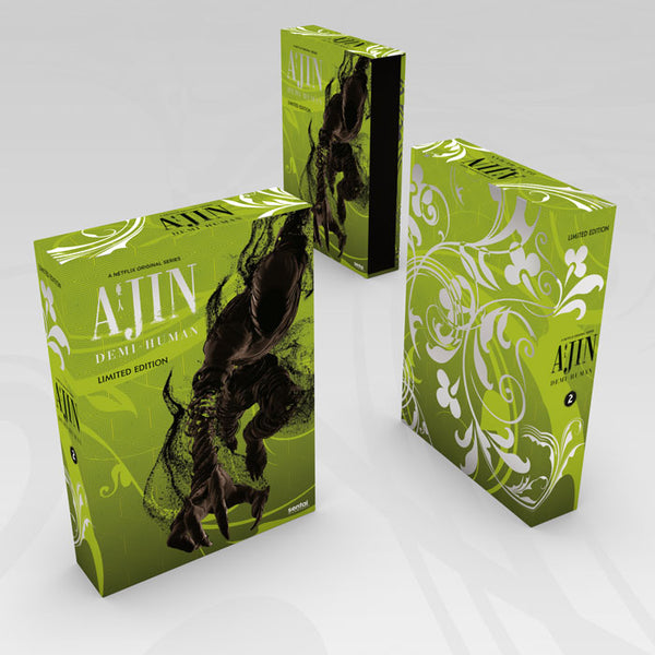 Ajin: Demi-Human Season 2 Premium Box Set Design