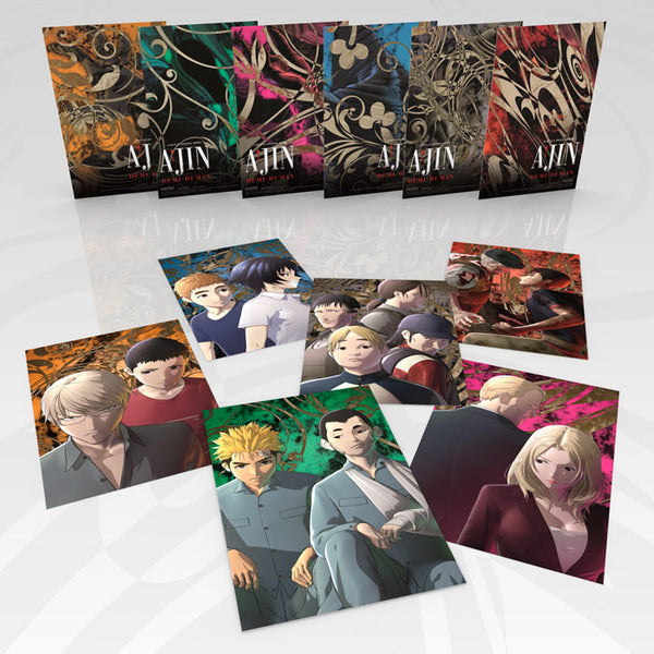 Ajin: Demi-Human Season 2 Premium Box Set Art Cards