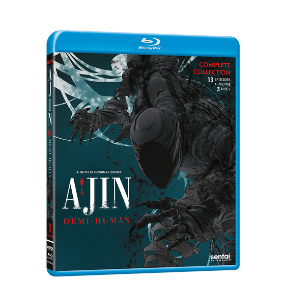 Ajin: Demi-Human Complete Collection Blu-ray Front Cover